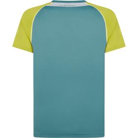 La Sportiva Motion T-Shirt Uomo, pine/kiwi
